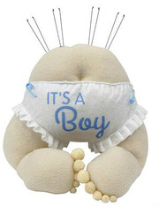 "12""H Baby Bottom Decor-Its a Boy"