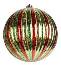 100MM Antique Look Vertical Stripe Ball