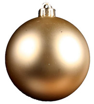 120MM V.P. Smooth Ball Ornament-Matte LT Gold