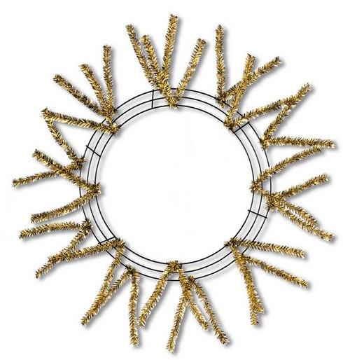 """15"""" Wire Pencil Work Wreath"""