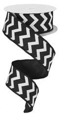 Small Chevron-Black/White