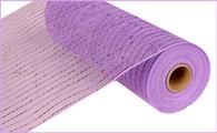 """10""""X10YD Metallic Mesh - Lavender W/Lavender Foil"""