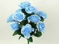 Color Fast Lillian Open Rose Bush-Seren (Light Blue)