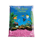 Pure Water Pebbles Premium Fresh Water Substrates Pink