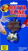 Betta Bling Decor - Skull Sign