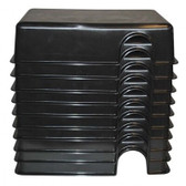 Black Hide Box - Large