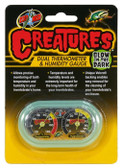 Creatures™ Dual Thermometer & Humidity Gauge