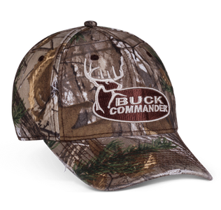 Camo Buck Commander Logo Hat