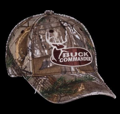 Camo Buck Commander Logo Hat - Buck Commander