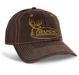 Buck Commander Brown Logo Hat