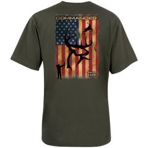 Buck Flag Youth T-Shirt