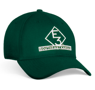 E3 Southeast Kansas New Era Green Hat