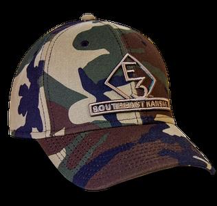 LIMITED EDITION E3 Southeast Kansas New Era Camo Hat