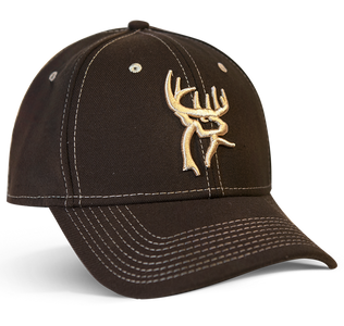 Brown Walnut New Era Buck Commander Logo Hat