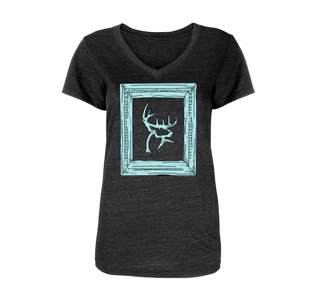 Women's Frame V-Neck T-Shirt