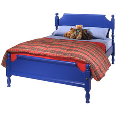 William Bed w/Low Footboard