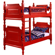 William Red Bunk Bed