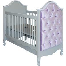 Belle Paris Upholstered Crib