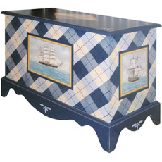 Nautical Toy Chest