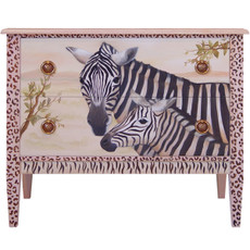 Chest of Drawers - Zebras