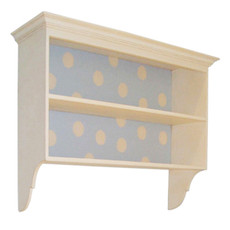 Swedish Nursery Shelf