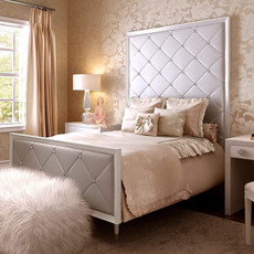 Jewels Bed Quilted w/ Diamonds-Queen