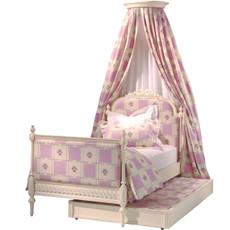 Princess Bed w/Crown