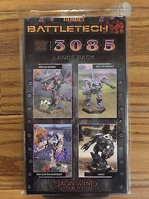Battletech 3085 Lance Pack 10-045 Click for more Savings!