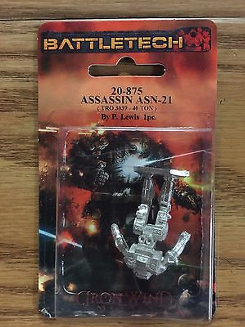 Battletech Assassin Mech 20-875 Click for more Savings!