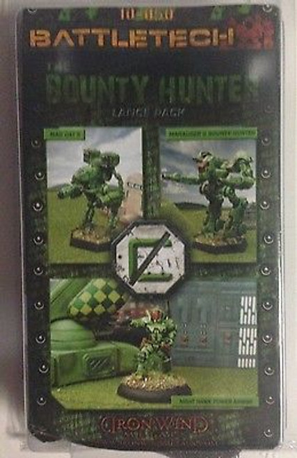 Battletech Bounty Hunter Lance Miniatures Pack (Marauder/MadCat/Night Hawk)