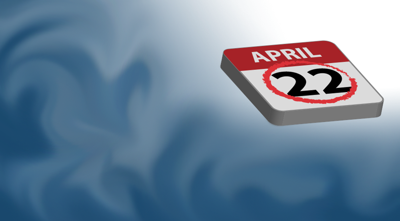 Clubs will be held on April 22nd