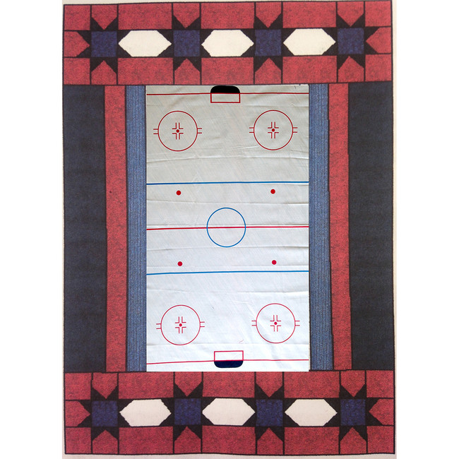 SCORE! Hockey Rink Quilt Kit