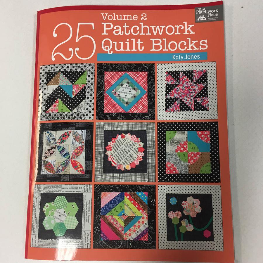 25 Patchwork Quilt Blocks Volume 2