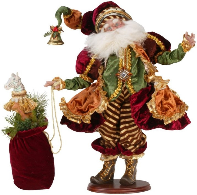 "Limited Edition Mark Roberts 23"" Couture Santa 51-36508"