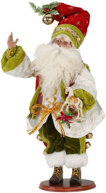 "Limited Edition Mark Roberts 22"" Toyshop Santa 51-36514"