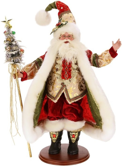 """Limited Edition Mark Roberts 18"""" Father Christmas 51-53014"""
