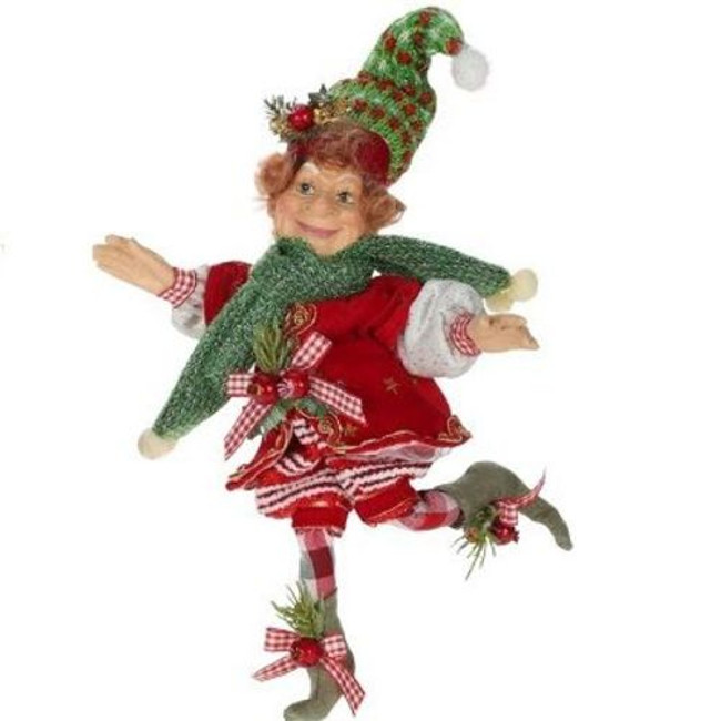Limited Edition Mark Roberts Small Peppermint Sprite Elf 51-41488