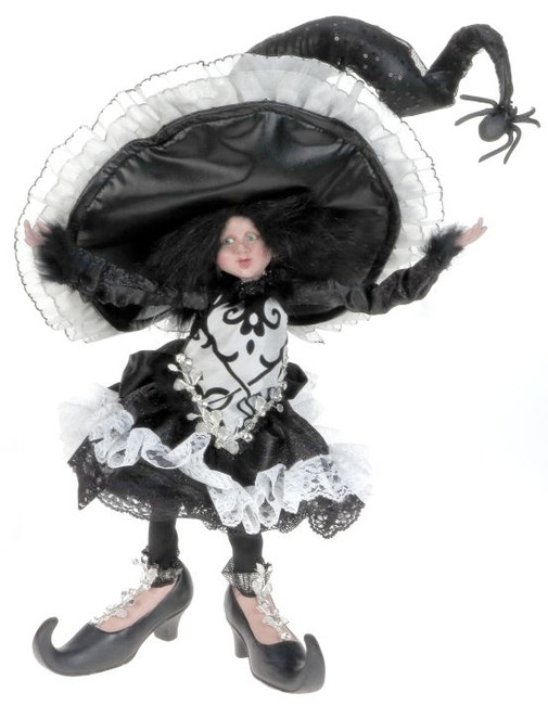 Limited Edition Mark Roberts Large Little Girl Witch Silver 51-41322