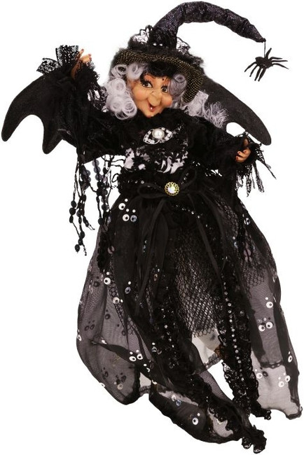 Limited Edition Mark Roberts Small Tramp Witch Girl 51-52806