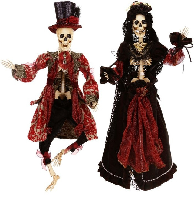 "Limited Edition Mark Roberts 16"" Lady Goo Goo Skeleton 51-52850-B"