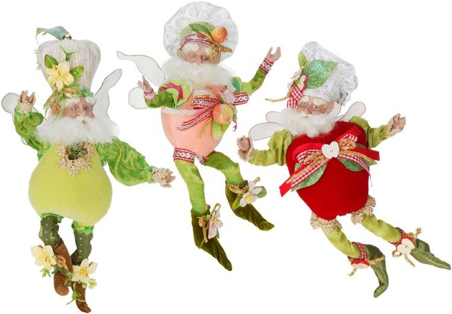 Limited Edition Mark Roberts Small Fruit Fairy 3 Assorted 51-41880