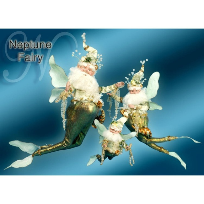 Limited Edition Mark Roberts Large Neptune Fairy Green 51-56614