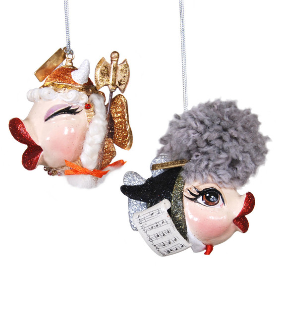 Limited Edition Katherine's Collection Concerto Kissing Fish Set of 2