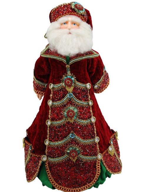 Advent Santa Doll - 28 inch