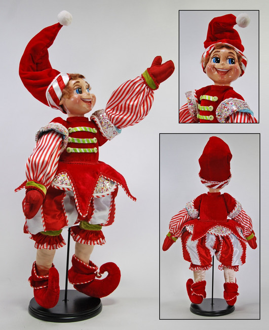 Boy Elf Pixie Cuckoo Doll 24""