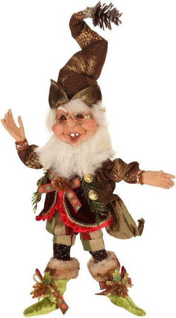 "Limited Edition Mark Roberts Small 9"" Pinecone Elf 51-41448"