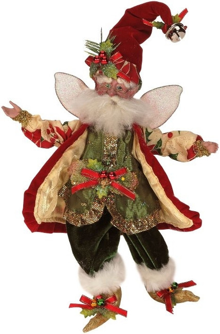 "Limited Edition Mark Roberts Small 10"" Yuletide Splendor Fairy 51-42540"