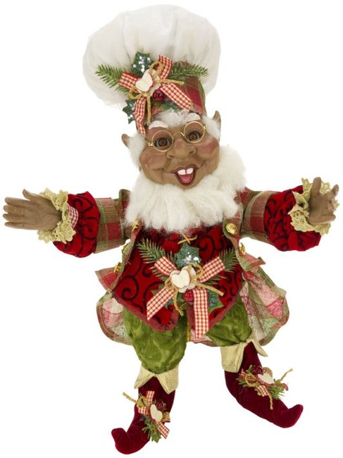 African American Apple Cider Elf