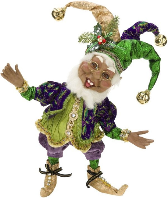 African American Court Jester Elf (Medium)