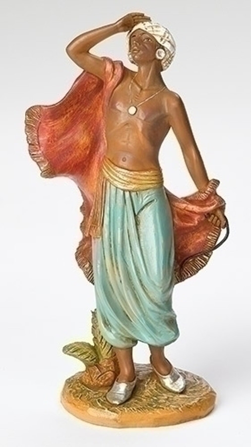 "12"" SAMSON, CAMEL DRIVER NATIVITY FIGURE"